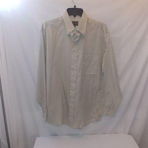 "Calvin Klein mens Long sleeves shirt 15"" neck Sz"